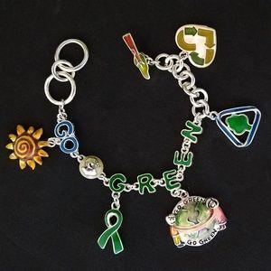 Jewelry - Green New Deal Charm Bracelet (AOC)
